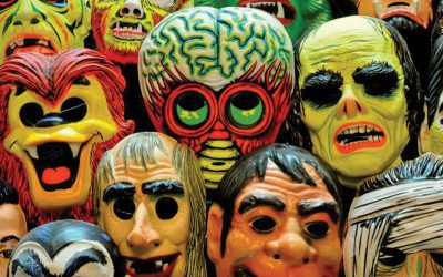 Remembering – Plastic Halloween Masks of the 1980s