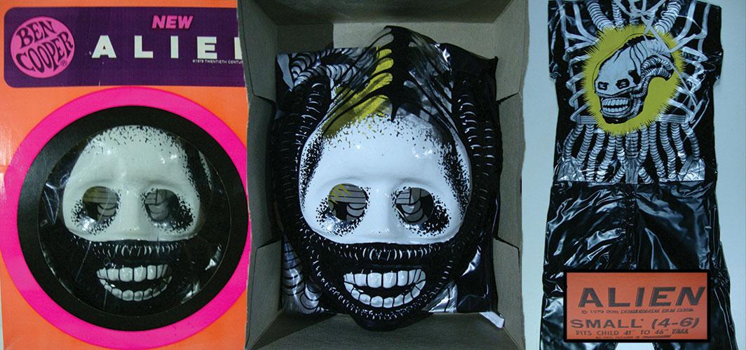 Alien - Ben Coopers - Remembering – Plastic Halloween Masks of the 1980s - Horror Land