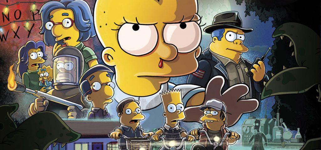 'Stranger Things' for The Simpsons 'Treehouse of Horror XXX' - Horror News @ Horror.Land