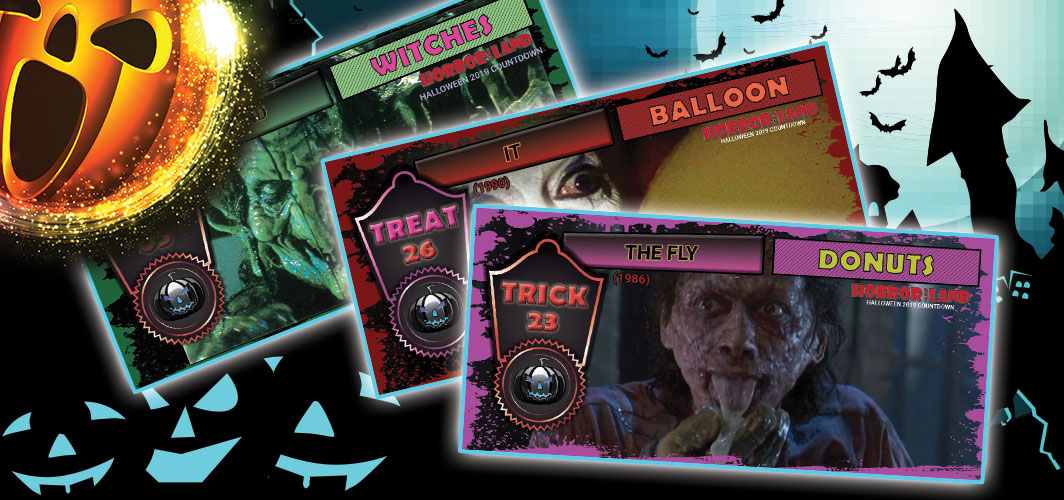 Halloween 2019 Countdown – Trick or Treat
