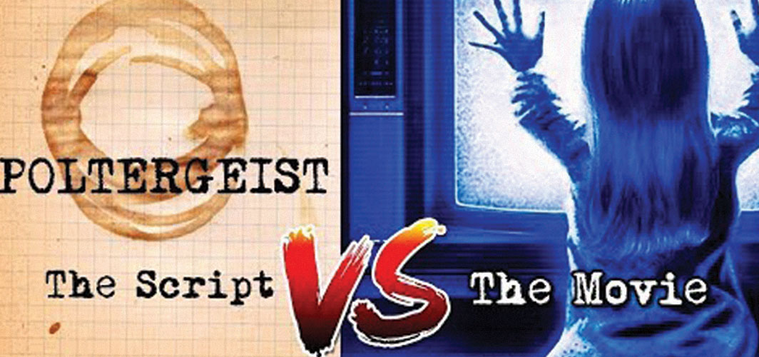Horror Land Presents - 10 Differences Between Script and Movie: Poltergeist