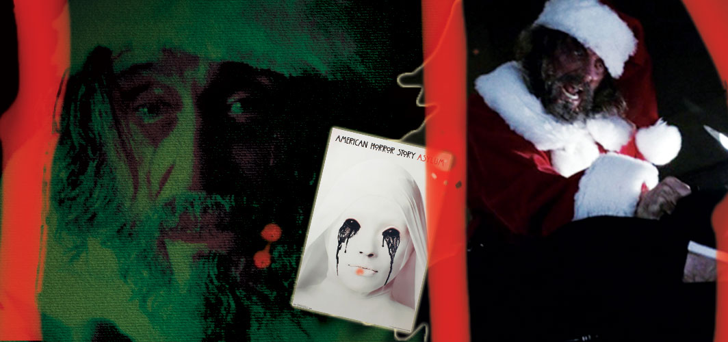 American Horror Story: Asylum - Unholy Night (2012) - 20 killer Santas from Film and TV - Horror Land