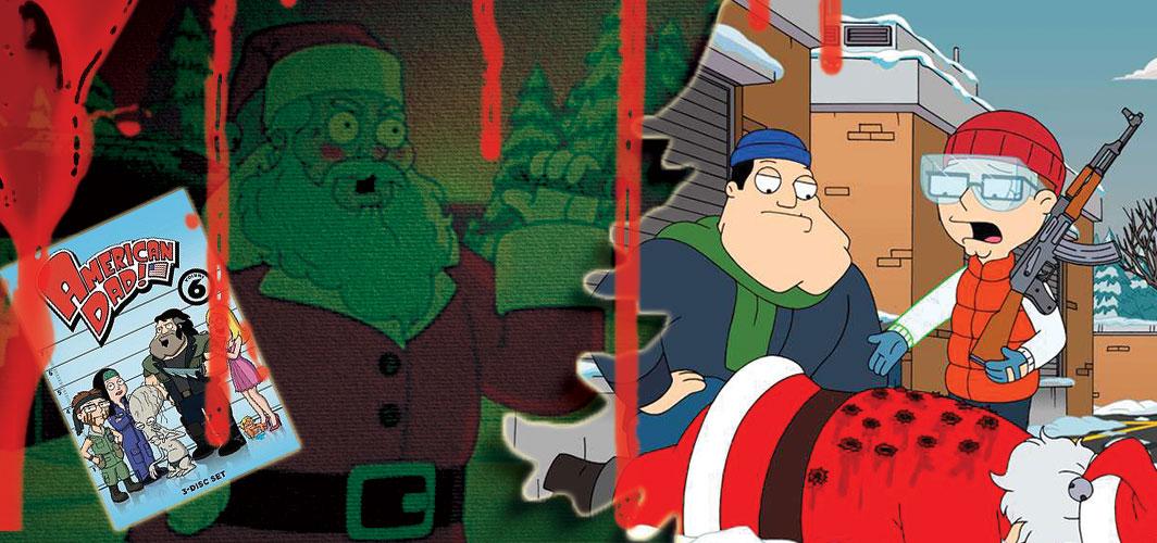 American Dad: Season 6 – 13 (2010 – 2017) - 20 killer Santas from Film and TV - Horror Land