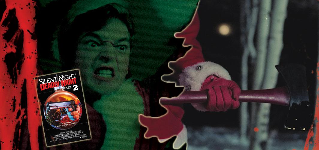 Silent Night, Deadly Night Part 2 (1987) - 20 killer Santas from Film and TV - Horror Land