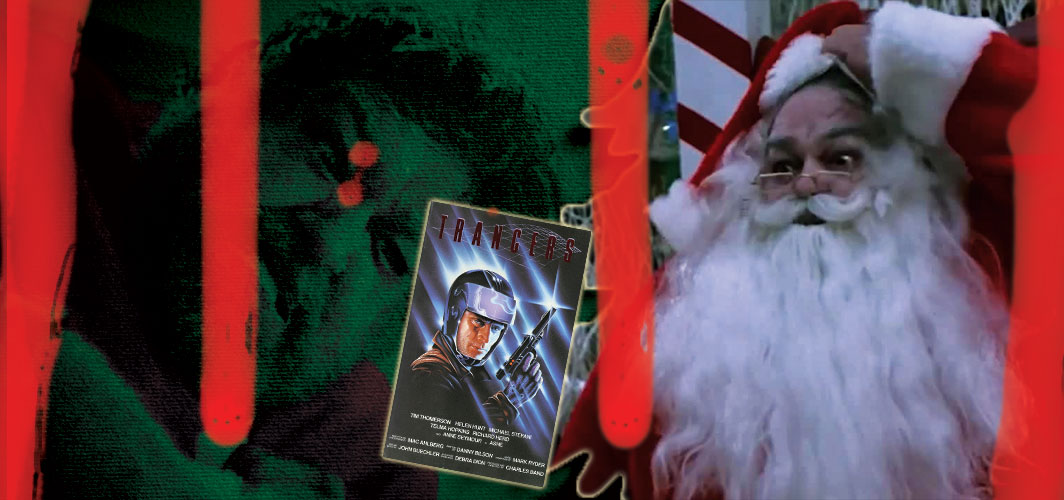 Trancers (1984) - 20 killer Santas from Film and TV - Horror Land