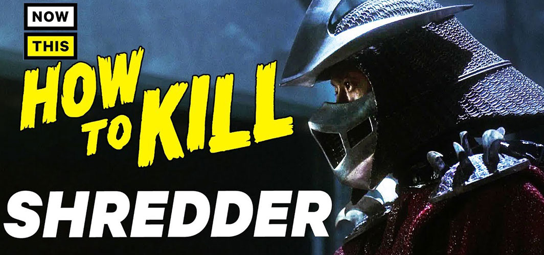 Horror Land Presents - How to Kill Shredder - Horror Video
