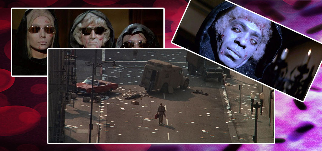 The Omega Man (1971) - Fictional Horror Pandemics from Films and Books