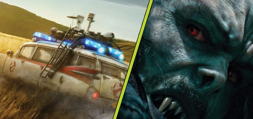 Sony to Move 'Ghostbusters: Afterlife' & 'Morbius' to March 2021 - Horror News