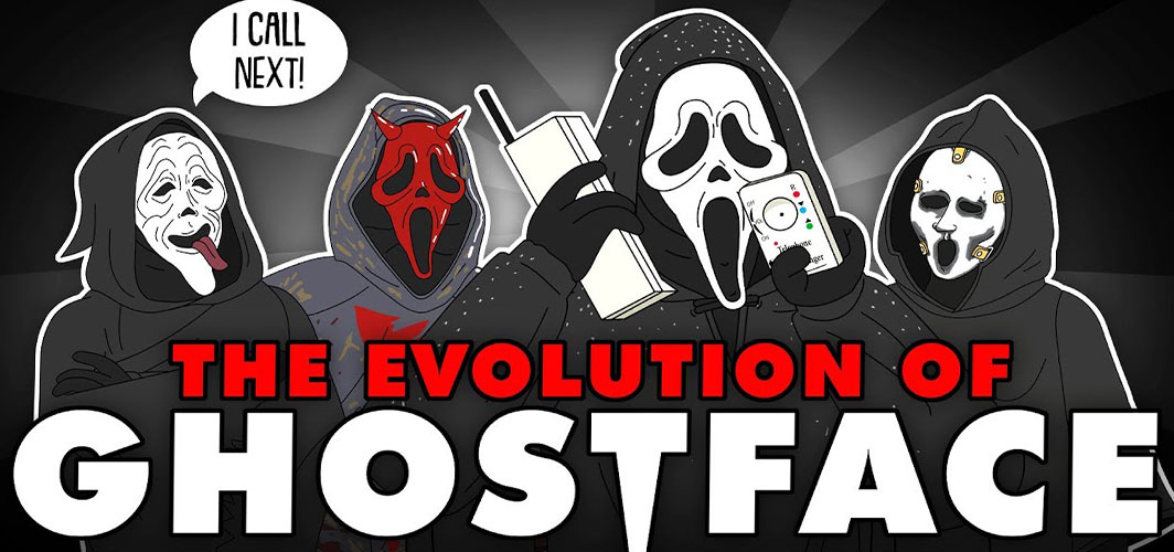 The Evolution Of GHOSTFACE/SCREAM (Animated)