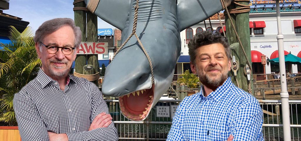 """Andy Serkis & Spielberg to Release """"Jaws"""" Special Addition"""
