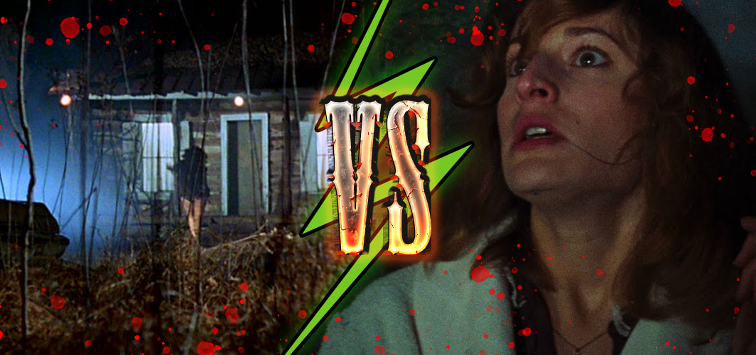 The Evil Dead (1981) – The Evil Dead vs Cheryl - Killing Time – 10 of the Best Horror Chases – Horror Land