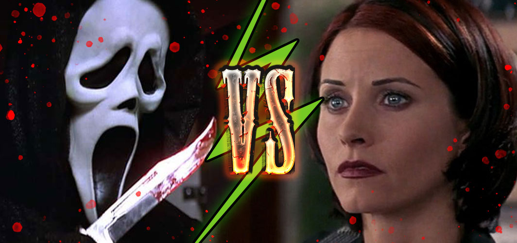 Scream 2 (1997) – Ghostface VS Gale - Killing Time – 10 of the Best Horror Chases – Horror Land