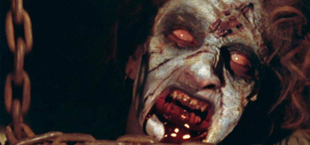 Evil Dead (1981) – Sheryl - 16 of The Most Scariest Faces In Horror Films – Horror Land