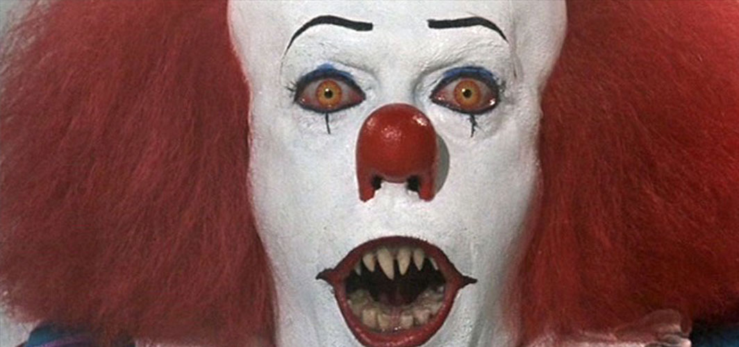 IT (1980) – Pennywise - 16 of The Most Scariest Faces In Horror Films – Horror Land