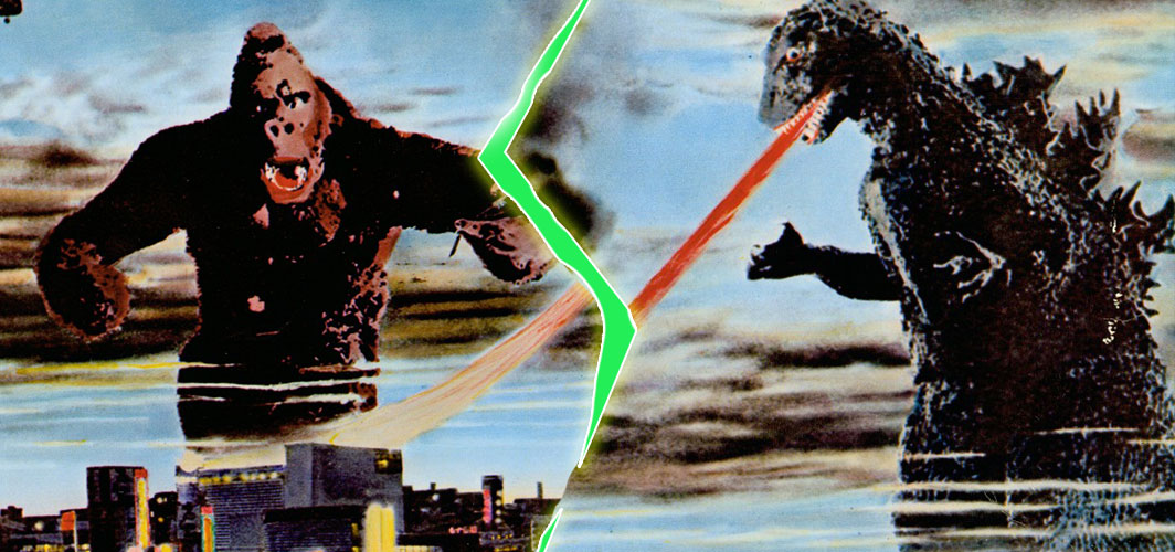 8 Epic Movie Crossovers that Blew our Minds - King Kong vs. Godzilla (1962) - Horror Land