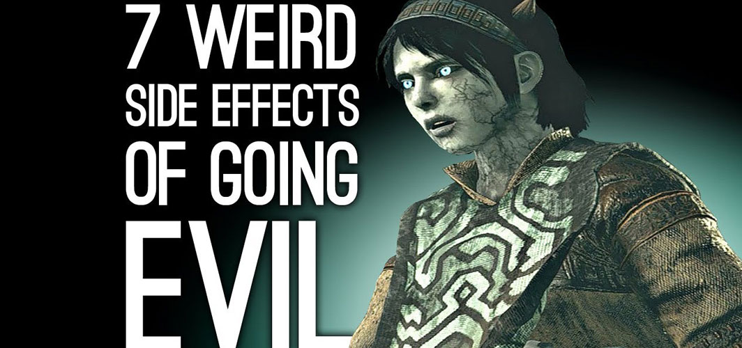 Horror Land Presents - 7 Weird Side Effects of Going Evil