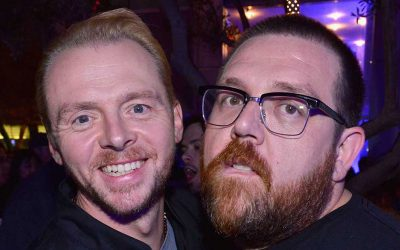 Simon Pegg and Nick Frost Reunite in 'Truth Seekers'