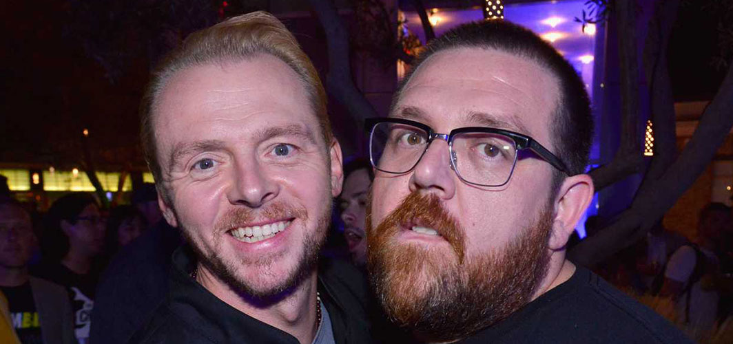 Simon Pegg and Nick Frost Reunite in 'Truth Seekers' - Horror News