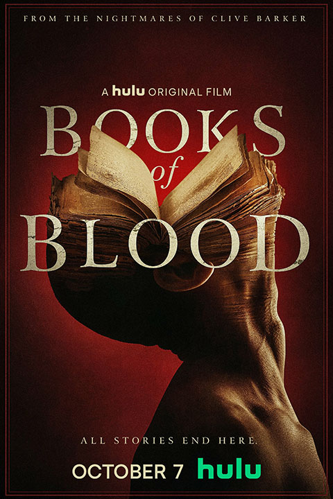 Clive Barker's 'Books of Blood' arrives on Hulu in October! Horror Poster - Horror Land