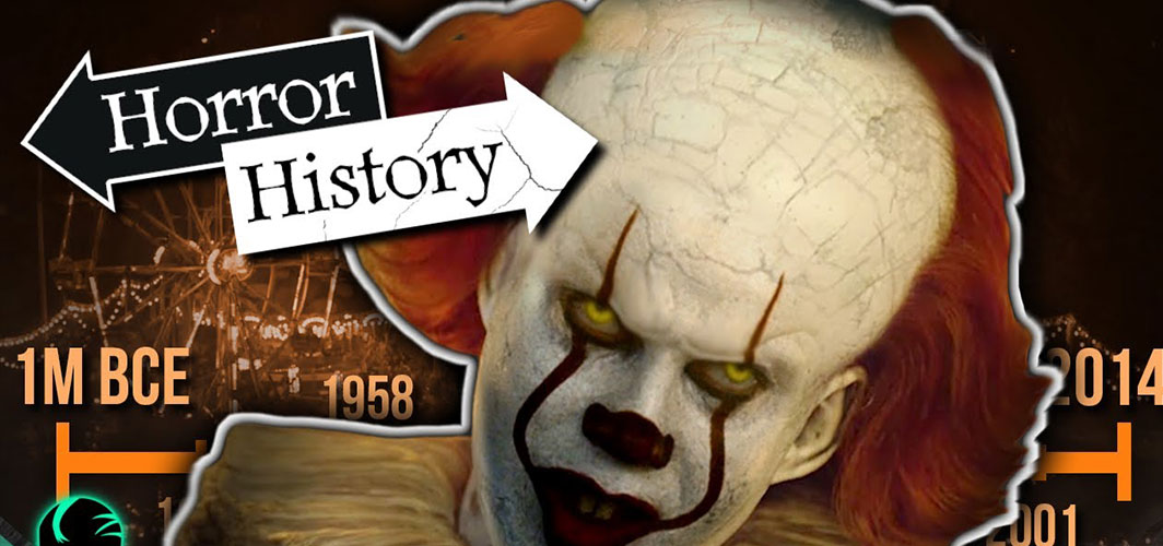 IT: The Complete History of Pennywise - Horror Videos - Horror Land