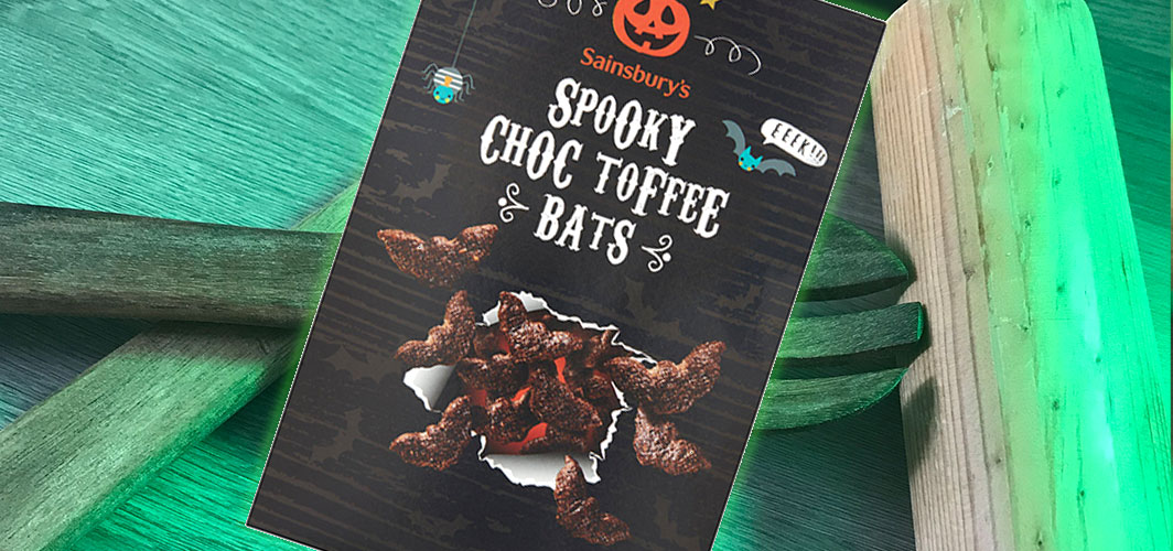 The Best UK Halloween Candy in 2020 - Spooky Choc Toffee Bats - Horror Land