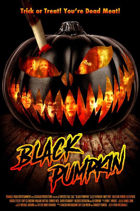 Black Pumpkin (2020) - Official Poster - Horror Land