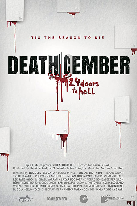 Deathcember (2020) - Official Poster