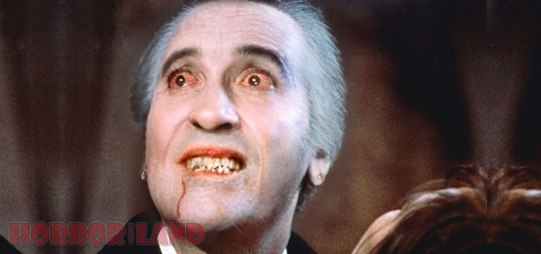 It's Horror… But not as you know It! – Horror Land - Dracula - Christopher Lee