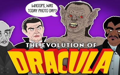 The Evolution of Dracula (Animation)