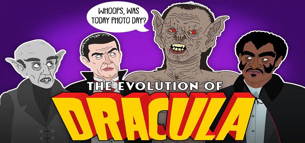 The Evolution of Dracula (Animation) - Horror Videos - Horror Land