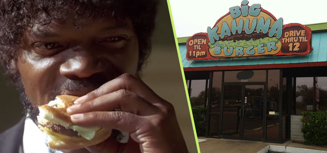 Authentic Bulgarian Miak and 10 other fictional foods from film and TV - Big Kahuna Burger - Pulp Fiction (1994)– Horror Land