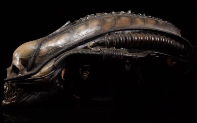 Mechanical Xenomorph Head Sold for £68k