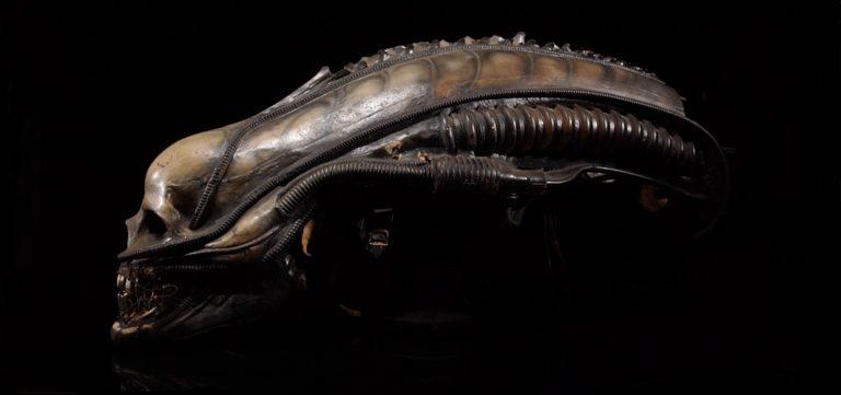 Mechanical Xenomorph Head Sold for £68k - Horror News - Horror Land
