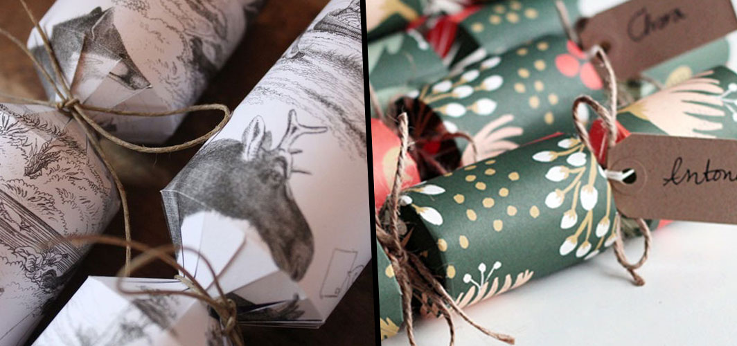 Top 10 Tips - Horror Christmas Crackers - Use String and Cardboard