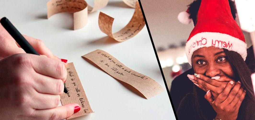Top 10 Tips - Horror Christmas Crackers - Replacing Jokes