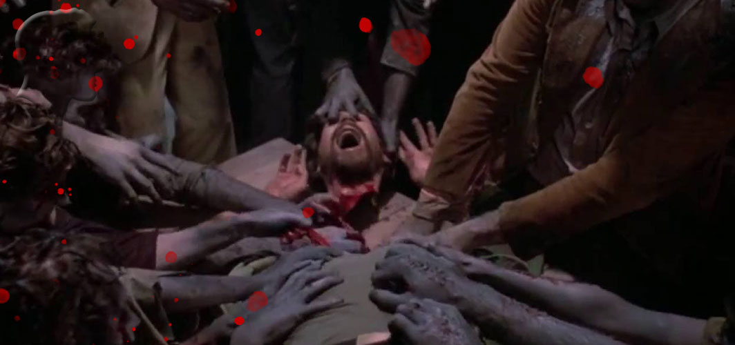 Day of the Dead (1985) - 10 Shocking film Decapitations - Beheadings in Horror - Horror Land