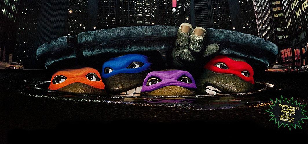 Cinema in Cinema – When Movie Characters Watch Horror on the Big Screen - Teenage Mutant Ninja Turtles