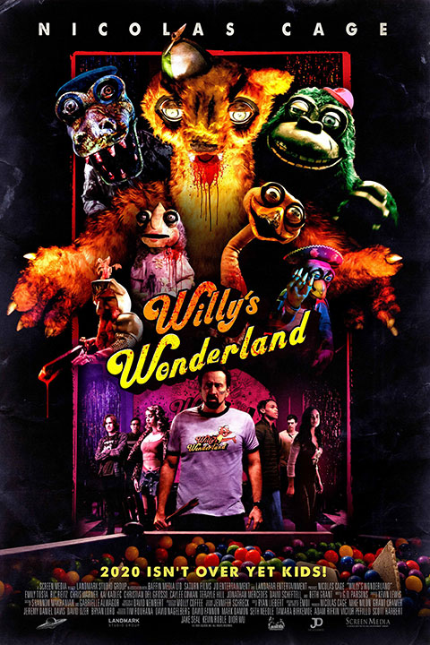 Willy's Wonderland (2021) - Official Poster