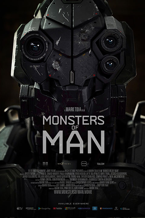 Monsters of Man (2020) - Official Poster - Horror Land