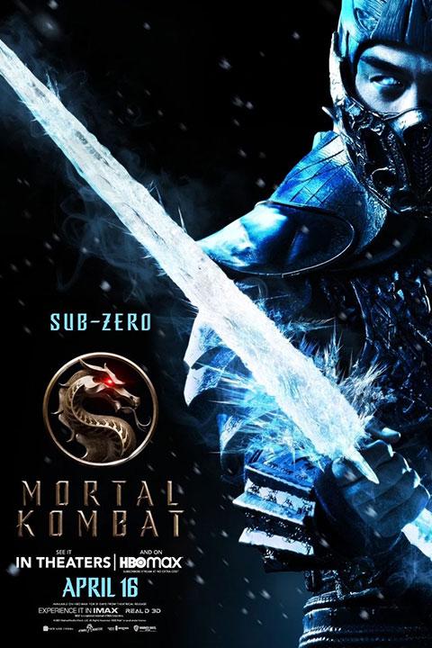 Mortal Kombat (2021) Poster - Horror Land