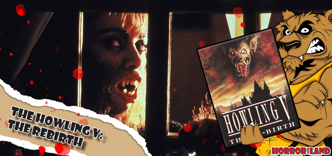 The Howling V: The Rebirth (1989) - The 13 Best Werewolf Movies of All Time
