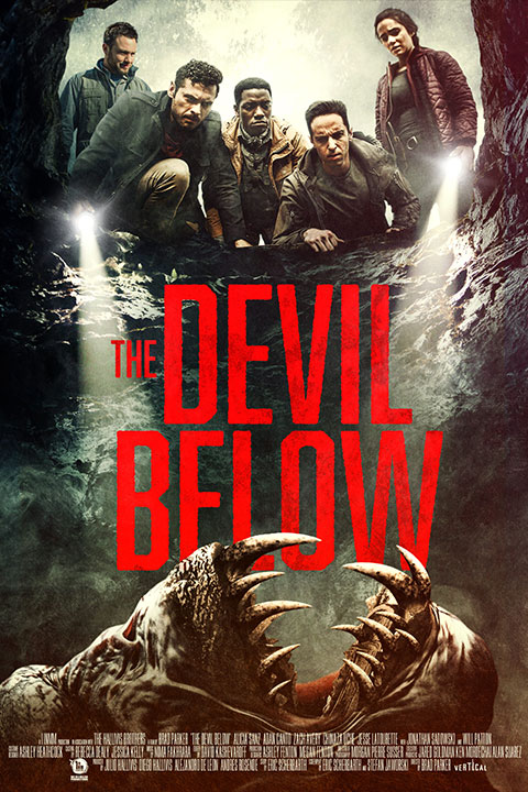 The Devil Below (2021) - Official Poster