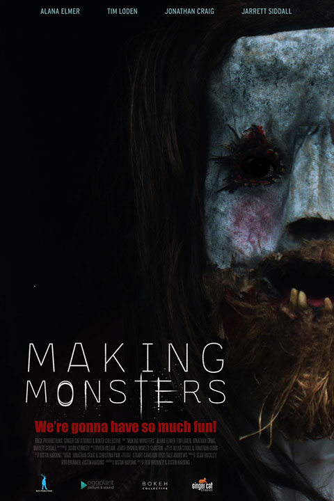 Making Monsters (2021) Official Poster - Horror Land
