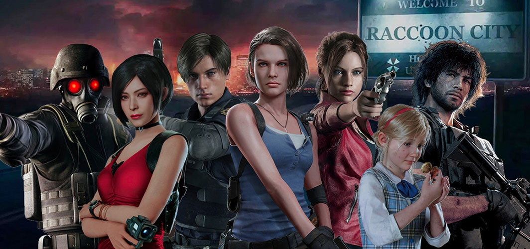 'Resident Evil' Reboot Officially Titled 'Resident Evil: Welcome to Raccoon City' - Horror News - Horror Land