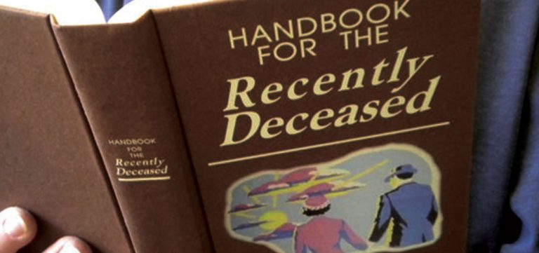 What's in the Handbook for the Recently Deceased? - Horror Land - Horror Videos