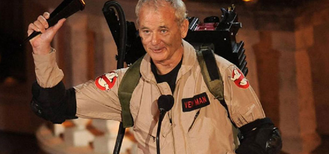 "Filming 'Ghostbusters: Afterlife' was ""physically painful"" for Bill Murray - Horror News - Horror Land"