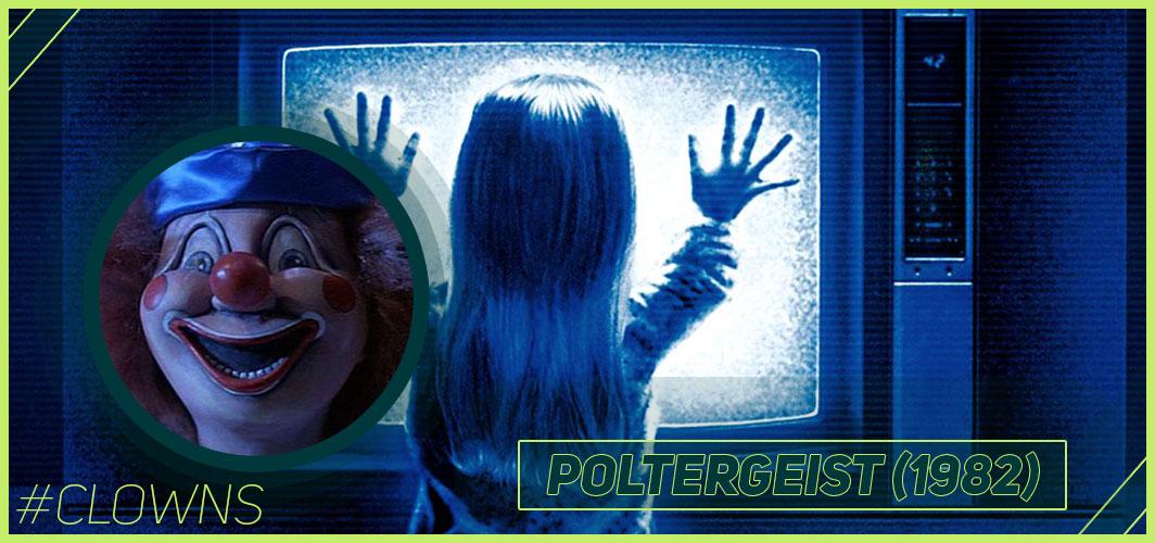 Poltergeist (1982) - 12 Creepy Clown Movies – Horror Articles – Horror Land