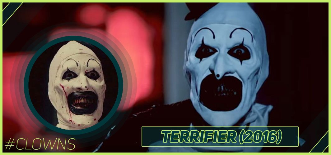 Terrifier (2016) - 12 Creepy Clown Movies – Horror Articles – Horror Land