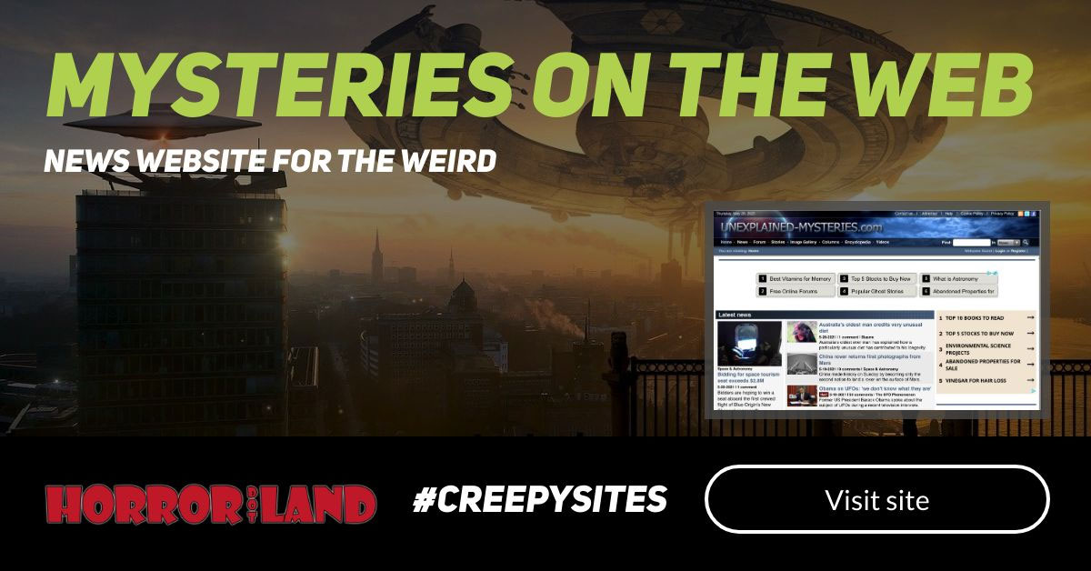 Mysteries on the web - The 12 Creepiest Websites On The Internet - Horror Land