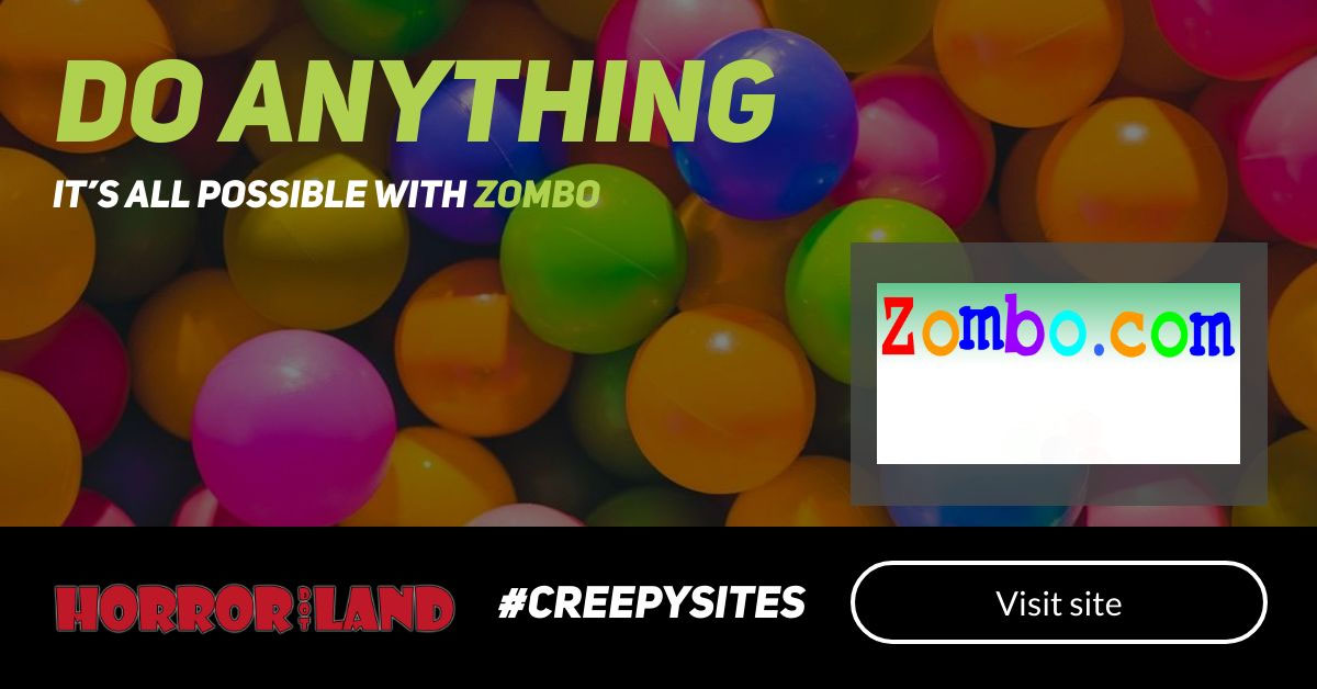 The 12 Creepiest Websites On The Internet - Horror Land